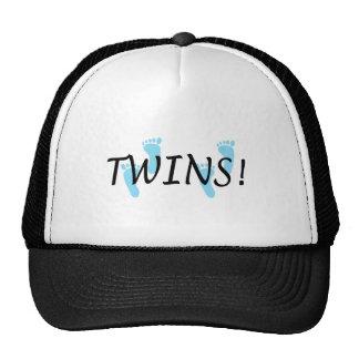 Twins (Blue Footprints) Cap