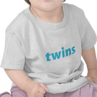 TWINS COLLECTION - boys aqua Tee Shirt