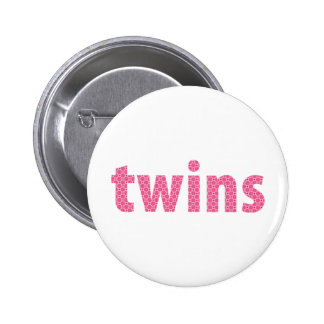 TWINS COLLECTION - girls pink Pin