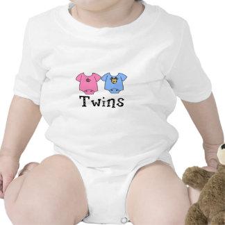 Twins Cute Bodysuit 1 girl & 1 Boy