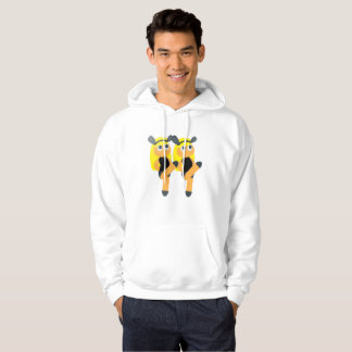 twins emoji mens hooded hoodie sweatshirt hoody