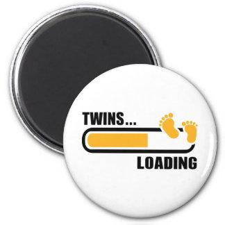 Twins loading magnet