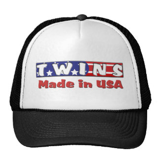 Twins Made In USA Red Cap