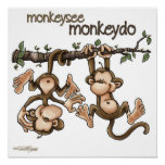 TWINS - Monkey See Monkey Do Poster