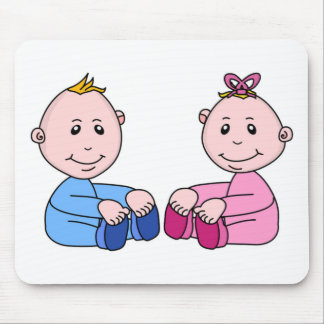 TWINS MOUSE PADS