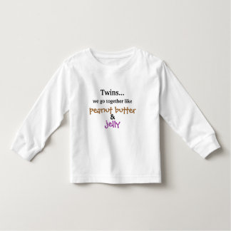 Twins - Peanut Butter & Jelly Toddler T-Shirt