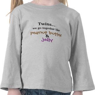 Twins - Peanut Butter & Jelly Tee Shirt