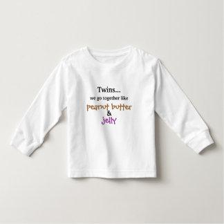 Twins - Peanut Butter & Jelly Shirts