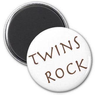 Twins Rock Magnet