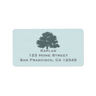 Twins Tree of Life Mitzvah Address Label