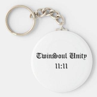 TwinSoul Unity 11:11 Key Chain