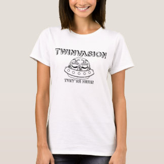 "TWINVASION ""They're Here!"" T-Shirt"