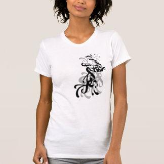 Twirl - Black & Grey Tshirt