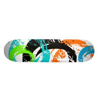 Twirl Neon Color Skateboard