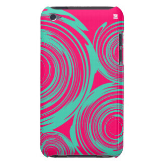 Twirl Pink Teal IPod Touch Case-Mate Case