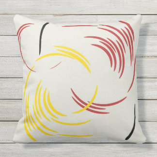 TWIRL THE DOTS OUTDOOR CUSHION