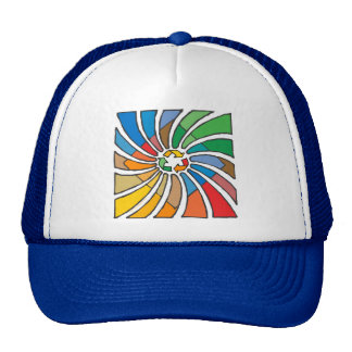 Twirled Recycle Trucker Hats