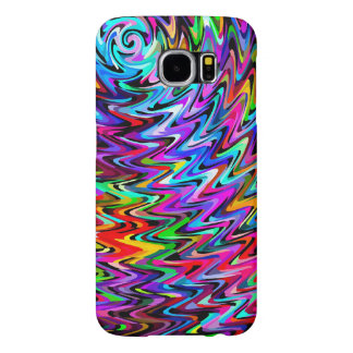 Twirling Colors Zigzag Pattern