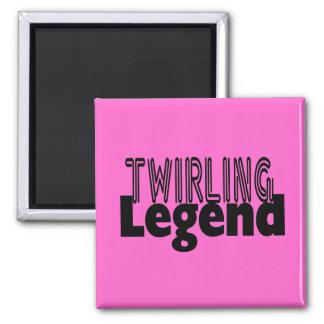 Twirling Legend Magnet