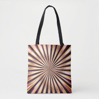 TWIRLSTRIPES TOTE BAG
