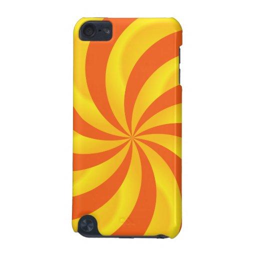 Twirly Sunburst Pattern iPod Touch Case