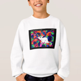 TWIS Kid's Sweatshirt: Blair's Animal Corner Rat Sweatshirt