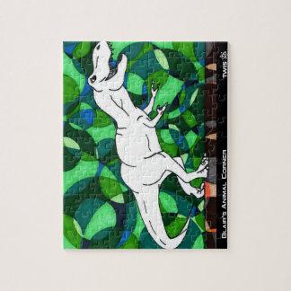 TWIS Puzzle: Blair's Animal Corner T Rex Jigsaw Puzzle