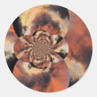twist1 classic round sticker