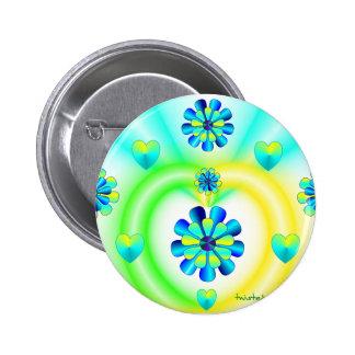 Twist 6 Cm Round Badge