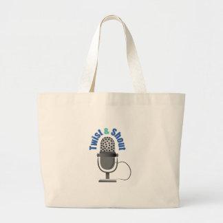 Twist & Shout Tote Bags