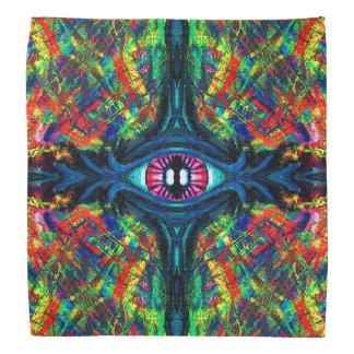 Twisted and Trippy Eyeball bandanna