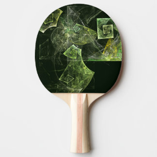 Twisted Balance Abstract Art Ping Pong Paddle