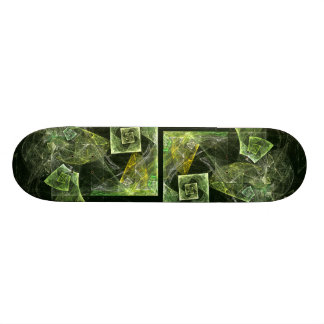 Twisted Balance Abstract Art Skateboard