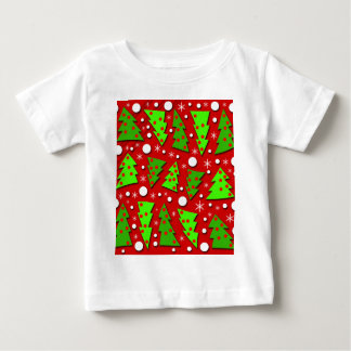 Twisted Christmas trees Baby T-Shirt