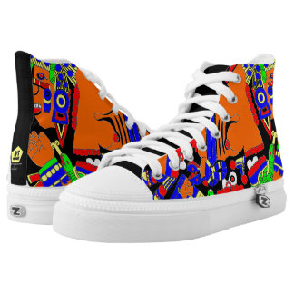 Twisted Day Printed Shoes