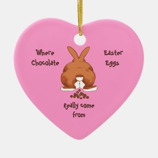 Twisted Easter Bunny Ornament