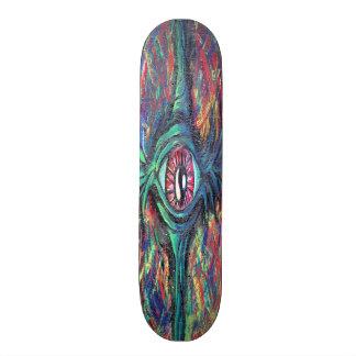 Twisted Eye Oil Painting Skateboard Deck