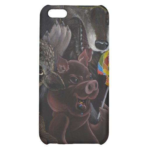 Twisted Fables the bad wolf 4G iphone Case For iPhone 5C