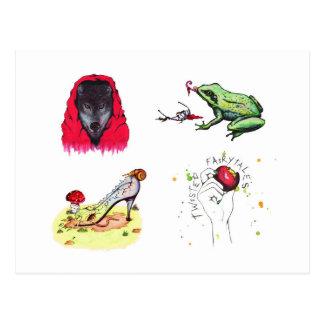 Twisted Fairytales (Postcard) Postcard
