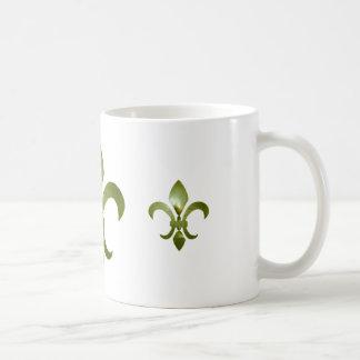 Twisted Fleur de Lis Mug