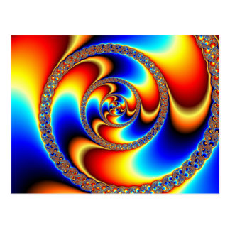 Twisted - Fractal Postcard