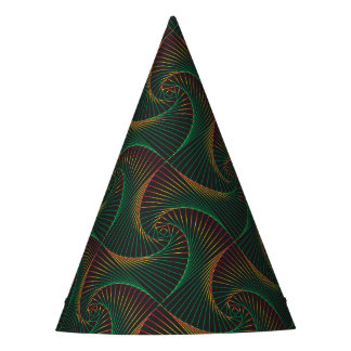 Twisted - Green and Red Party Hat