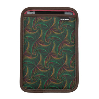 Twisted - Green & Red iPad Mini Sleeve