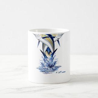 Twisted Marlins Jumping Coffee Mug