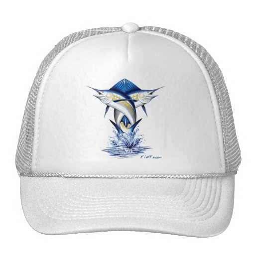 Twisted Marlins Jumping Hat