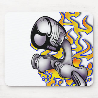 Twisted Piston Mouse Pad
