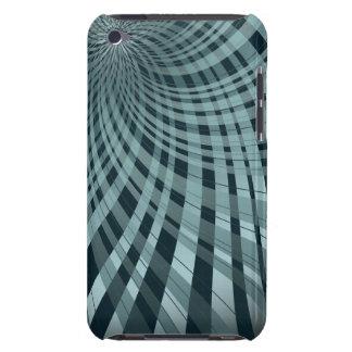 Twisted Plaid Blue iPod Case-Mate Case