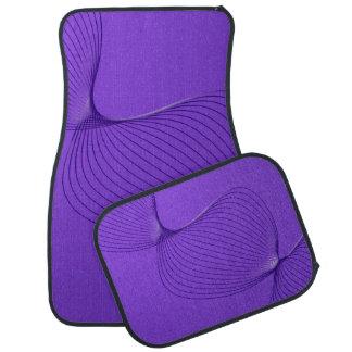 Twisted Purple Pain Signals Car Mat
