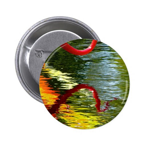 Twisted Ripples Pinback Button