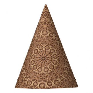 Twisted Rope Kaleidoscope  Customizable Party Hat
